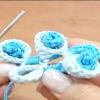 Квітка гачком майстер клас шнур