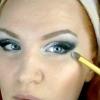 Яскравий макіяж очей фото майстер клас