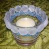 Як декорувати скляну сткана і перетворити його в свічник