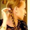 Як красиво заплести косу самої або косичка подвійний джгут