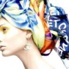 Як красиво зав'язати хустку на голові?
