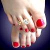 Як носити кільця на ногах