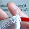 Як обв'язати тканину гачком