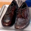 Як очистити взуття від дорожньої солі