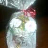 Як оформити подарункову упаковку для цукерок за допомогою вазочки-креманки