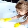 Як почистити акрилову ванну