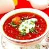 Як приготувати домашній борщ на томатній пасті.
