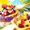 Як приготувати фруктовий салат в ананасі?