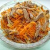 Як приготувати салат з курячими сердечками