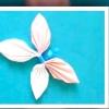 Як зробити метелика з паперу майстер клас