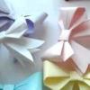 Як зробити бантик з паперу своїми руками орігамі