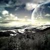 Як зробити через фотошоп містичну картину з планетами?