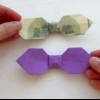 Як зробити краватку з паперу