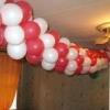 Як зробити гірлянду з повітряних кульок