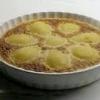Як зробити грушевий торт з мигдальним кремом.