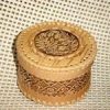 Як зробити круглу шкатулку з липи