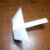 Як зробити літаючу ластівку з паперу