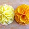 Як зробити махровий квітка з тканини
