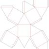 Як зробити октаедр з паперу?