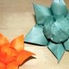 Як зробити орігамі квітів