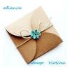 Як зробити оригінальний подарунковий конверт з гуртків паперу