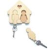 Як зробити підставку під брелоки для ключів, для всієї родини.