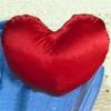 Як зробити подушку у вигляді серця?