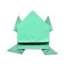 Як зробити стрибає жабу з паперу