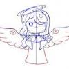 Як зробити малюнок ангела олівцем