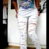 Як зробити рвані джинси відео майстер клас