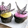 Як зробити шоколадних метеликів