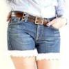 Як зробити шорти зі старих джинсів