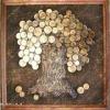 Як зробити старовинне панно з монет?