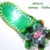 Як зробити тапочок-игольниц з пластикової пляшки