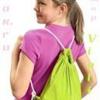 Як зшити рюкзак або мішок для сменки зі старої футболки