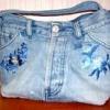 Як зшити найпростішу сумочку зі старих джинсів