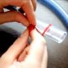 Як зв'язати витягнуті петлі гачком