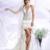 Як вибрати коротке весільне плаття
