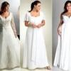 Як вибрати весільну сукню для повної нареченої