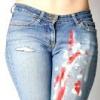 Як вивести фарбу з джинсів?