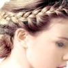 Як заплести грецьку косу