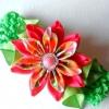 Канзаши красиві квіти своїми руками