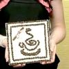 Картини з кавових зерен фото відео майстер клас