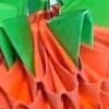 Полуничка орігамі