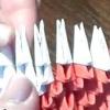 Модульне орігамі дід мороз своїми руками