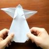 Орігамі ангел з паперу