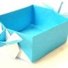 Орігамі з паперу коробка