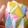 Орігамі з паперу куб