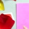 Орігамі з паперу сердечко
