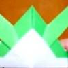 Орігамі з паперу шолом